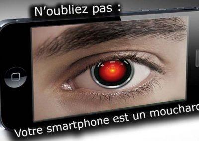 Votre smartphone est un mouchard !